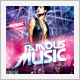 Famous Music CD Cover - GraphicRiver Item for Sale