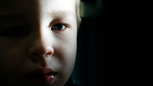 Boy Watching Cartoons 2