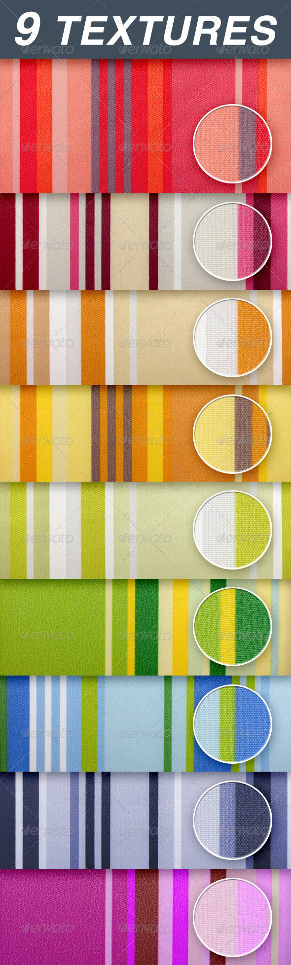 GraphicRiver striped fabric 6699272