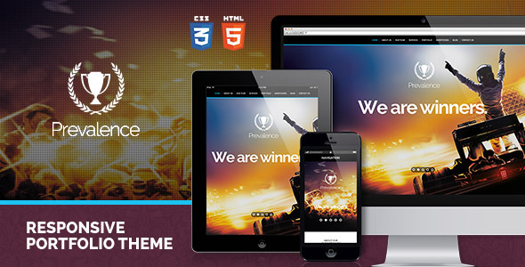 Prevalence: Responsive One Page HTML Theme