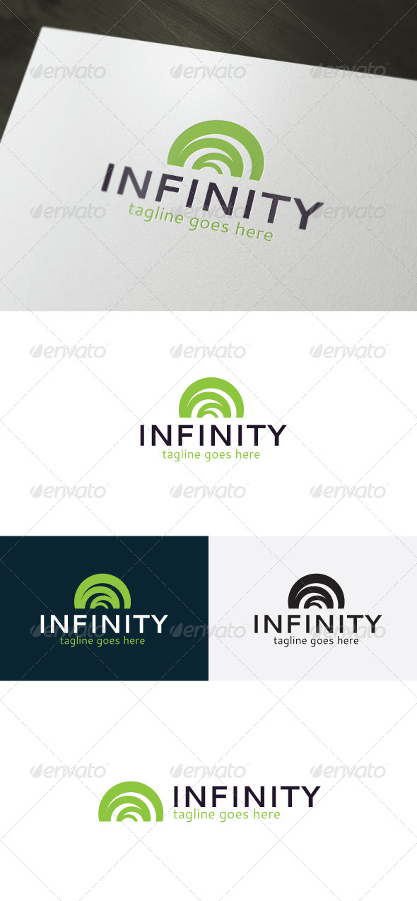 GraphicRiver Infinity Logo Abstract 6700906