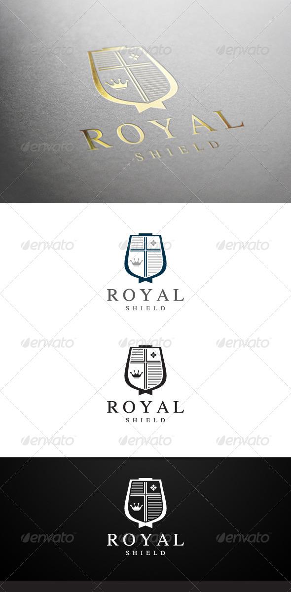 GraphicRiver Royal Shield V2 Logo 6701080
