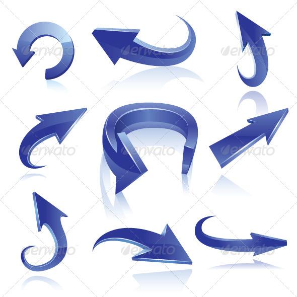 GraphicRiver Arrow Set 6701580
