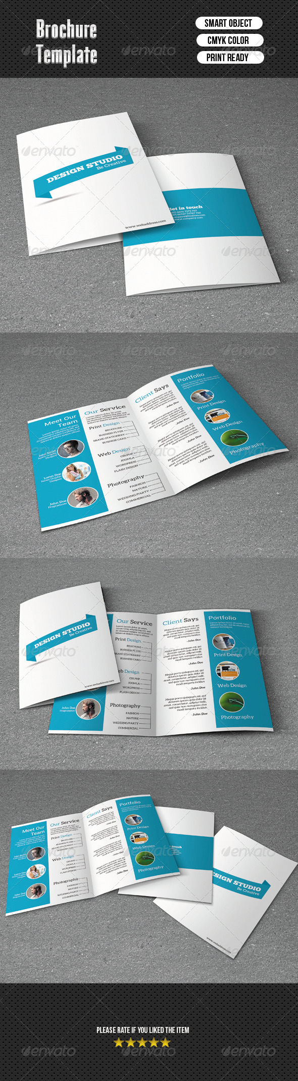 GraphicRiver Bifold Brochure-Business 6702107