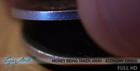 Money Being Taken Away