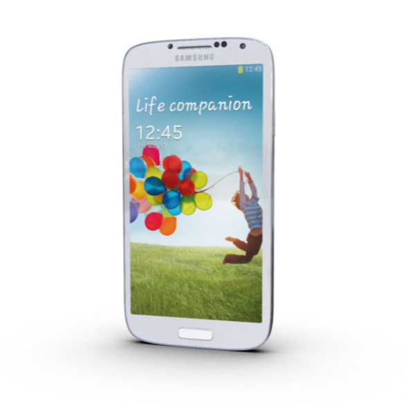 Samsung S4 Mobile Phone - 3DOcean Item for Sale