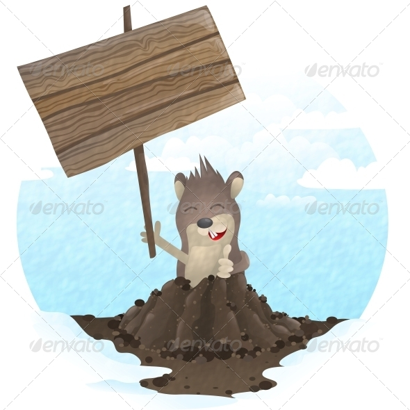 GraphicRiver Happy Groundhog Day 6702461