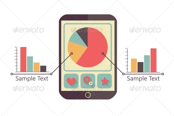 GraphicRiver Tablet with Charts 6702497
