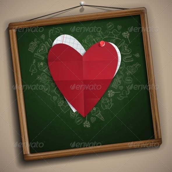 GraphicRiver Valentines Day Symbol s 6702553