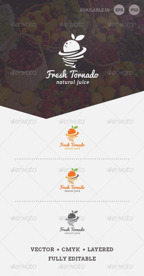 GraphicRiver Fresh Tornado Logo Template 6702737