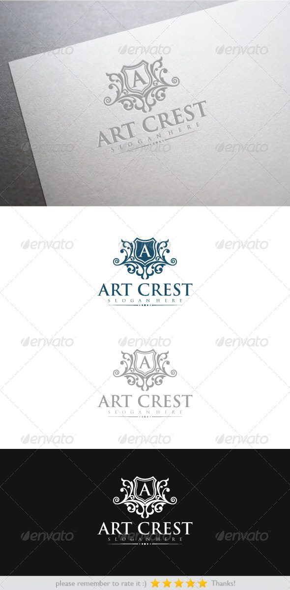 GraphicRiver Art Crest 6702846