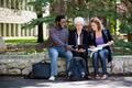 University Students Using Digital Tablet - PhotoDune Item for Sale
