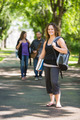 Portrait Of University Student Standing On Campus - PhotoDune Item for Sale