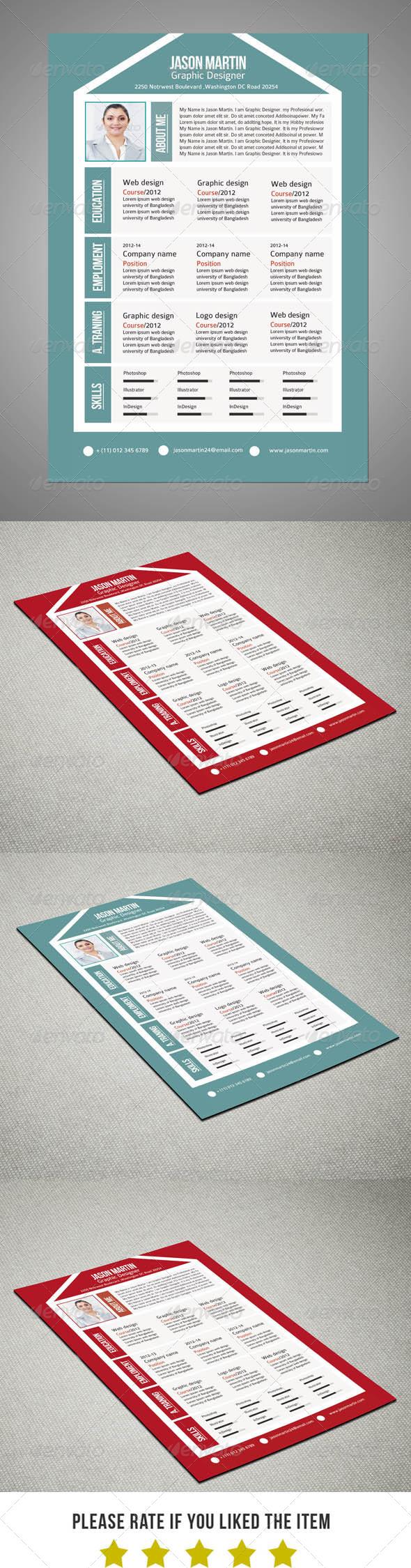Creative Pro Resume V9