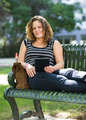 Confident University Student Sitting On Bench - PhotoDune Item for Sale