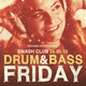 Drum and Base Friday Event Flyer Template
