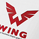 Wing W Letter Logo - GraphicRiver Item for Sale