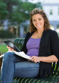 Happy University Student With Book Studying On Campus - PhotoDune Item for Sale