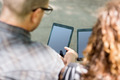 University Students Using Digital Tablets - PhotoDune Item for Sale