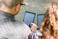 University Students Using Digital Tablets - PhotoDune Item for Sale