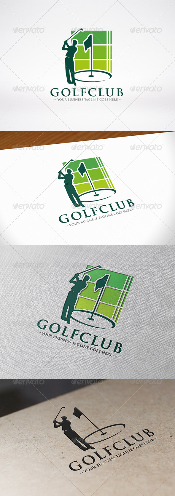 GraphicRiver Golf Logo Template 6703188