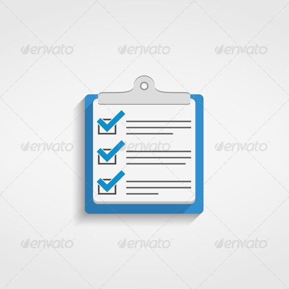 GraphicRiver Check List Icon 6703218