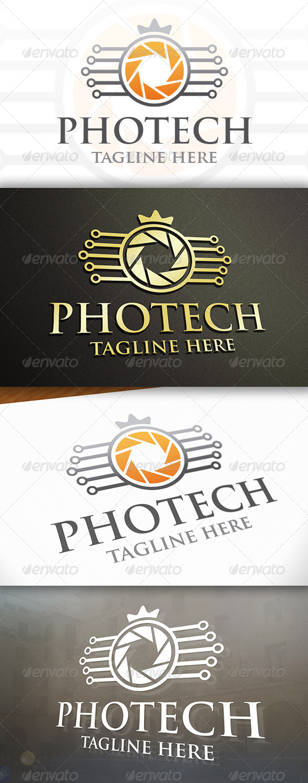 GraphicRiver Photo Tech Logo 6703465
