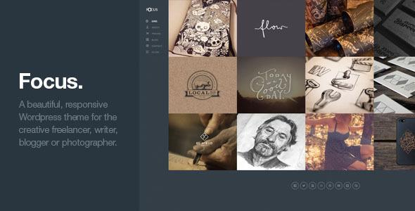 Focus - Unique Creative Responsive WordPress Theme - Portfolio Creative