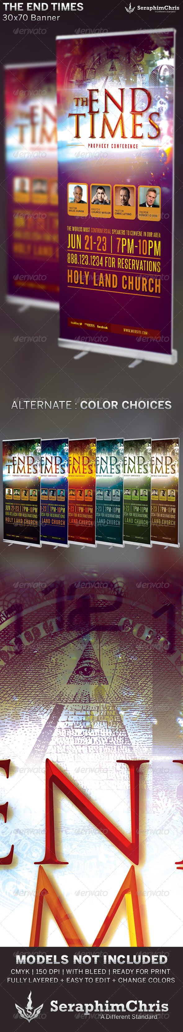 GraphicRiver The End Times Banner Template 6703524