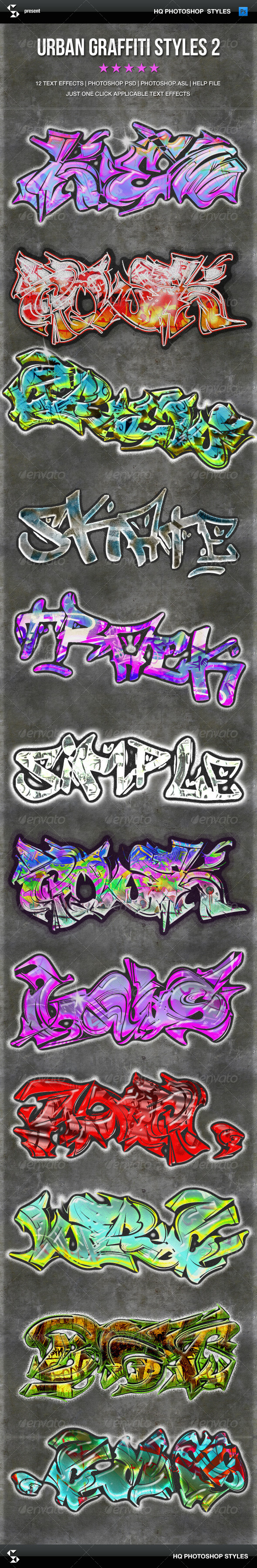 GraphicRiver Urban Graffiti Text Effects 2 6703543