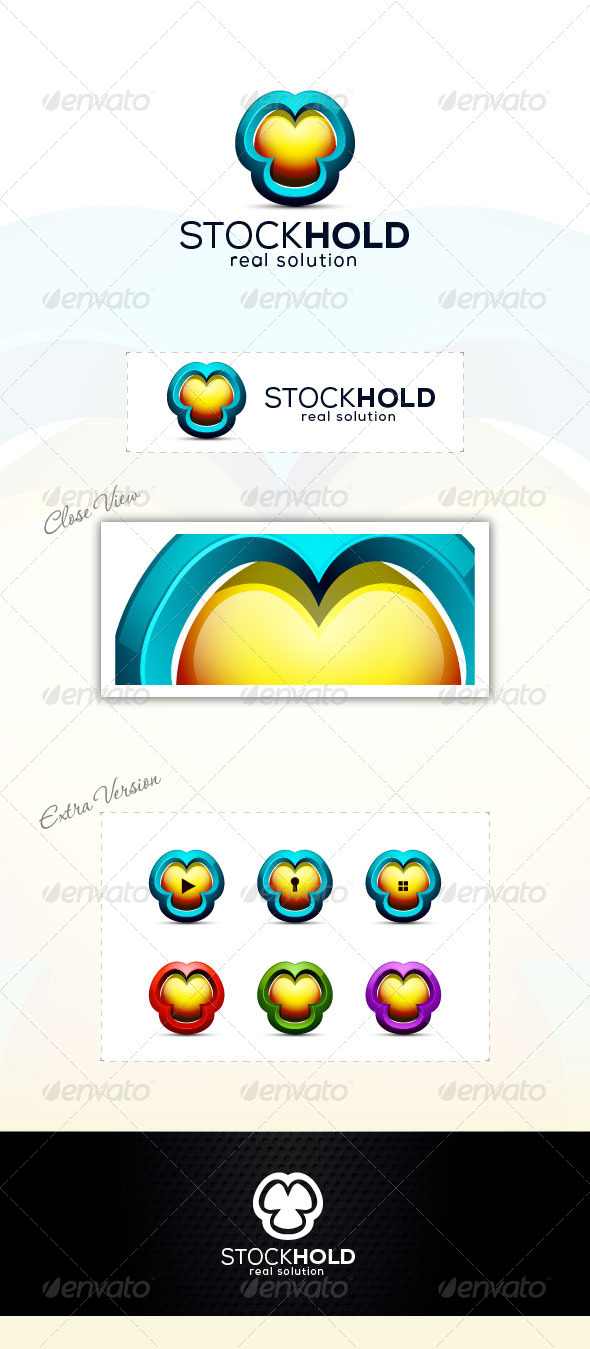 GraphicRiver 3D Hold Logo 6703567