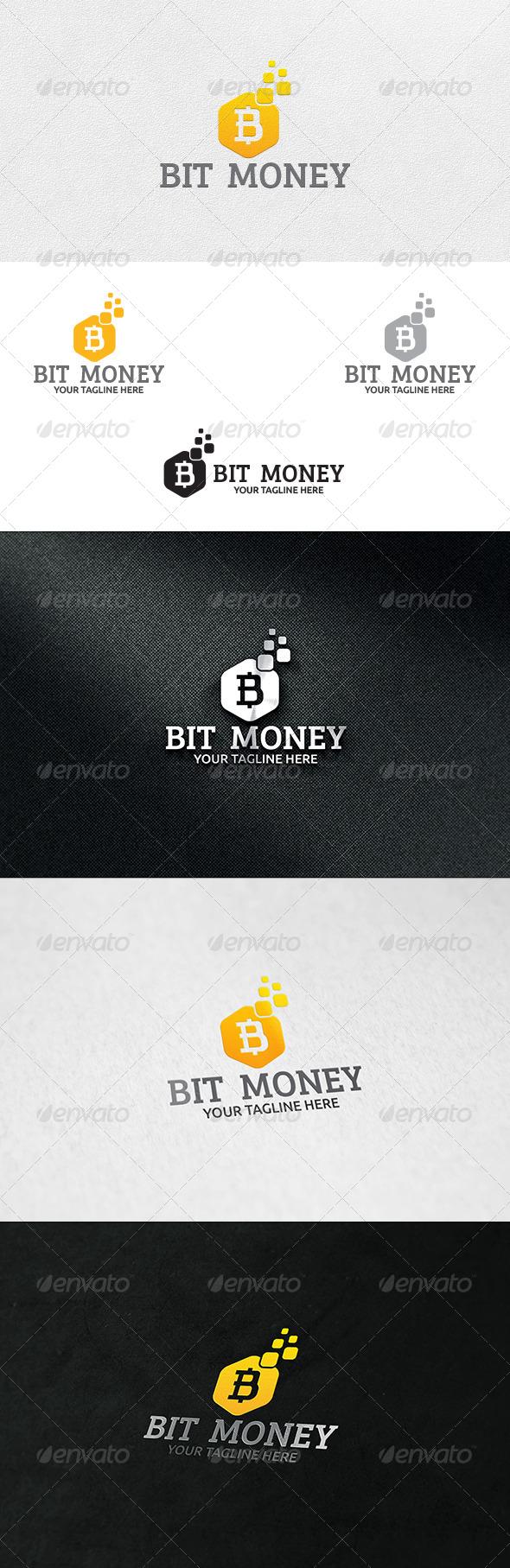 GraphicRiver Bit Money Logo Template 6703580
