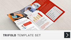 Trifold Template Set