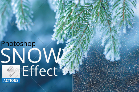 GraphicRiver Photoshop Snow Effect 6703591