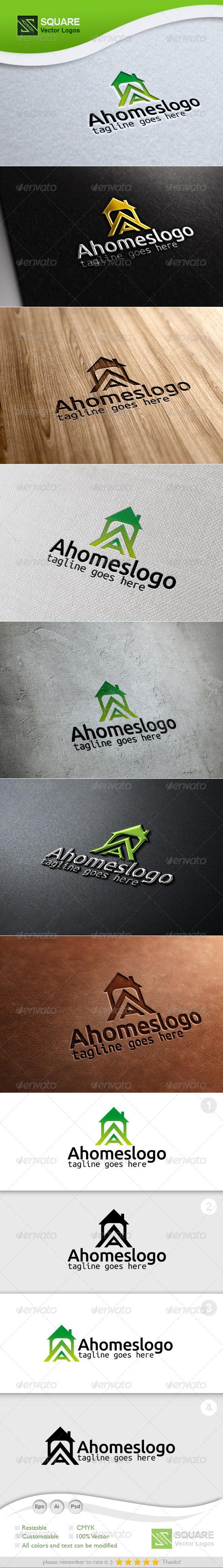 GraphicRiver A House Vector Logo Template 6704184