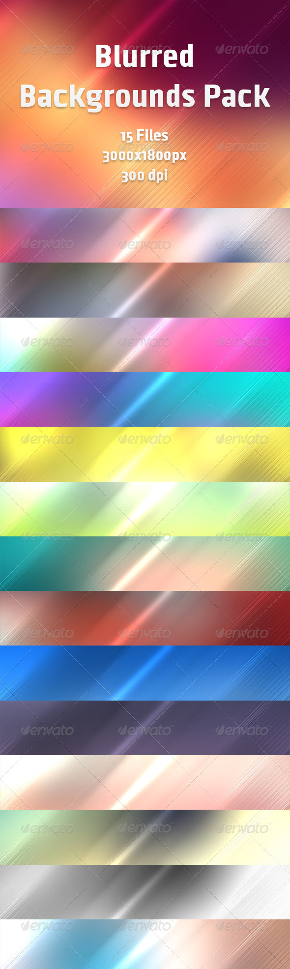 GraphicRiver Blurred Backgrounds Pack 6704377