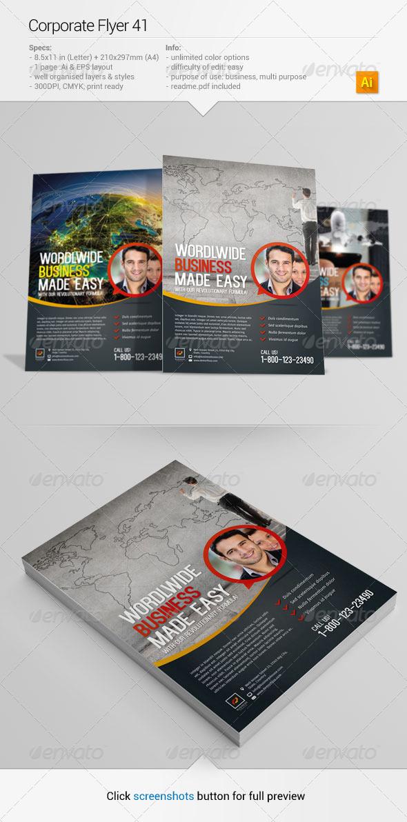 GraphicRiver Corporate Flyer 41 6704604