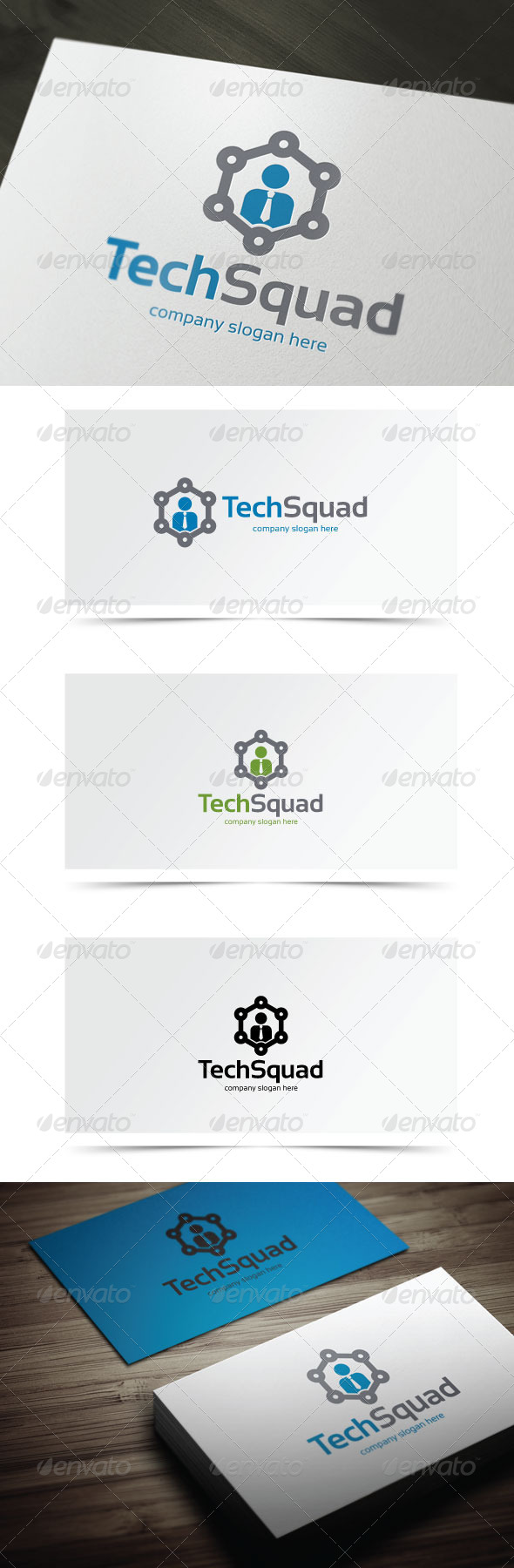 GraphicRiver Tech Squad 6705021