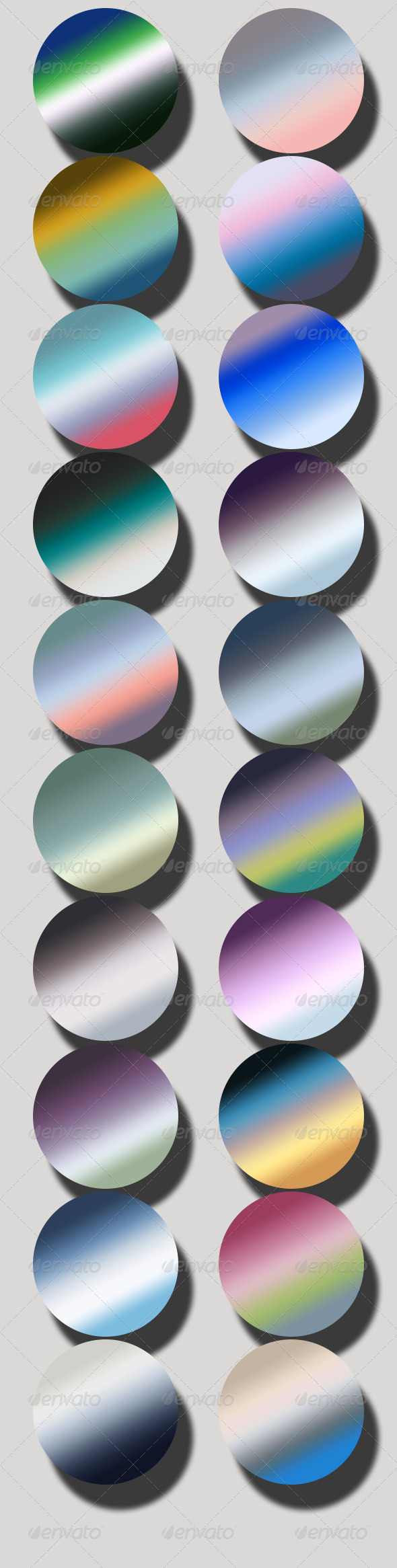 GraphicRiver Cold Gradients 6705143