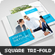 Square Corporate Tri-fold Brochure - GraphicRiver Item for Sale