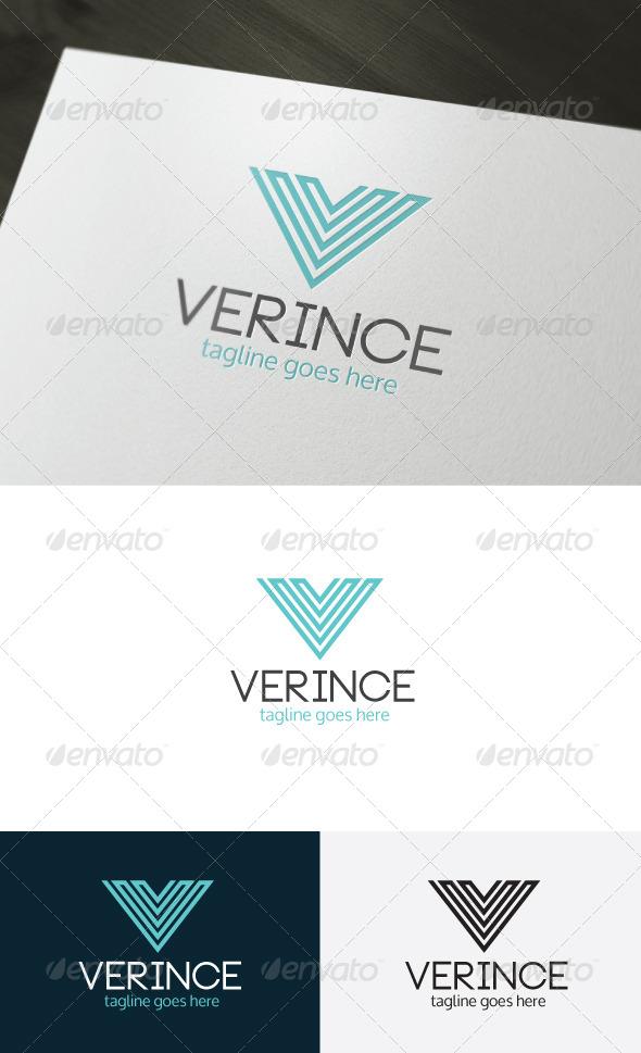 GraphicRiver Verince Logo Letter V 6705446