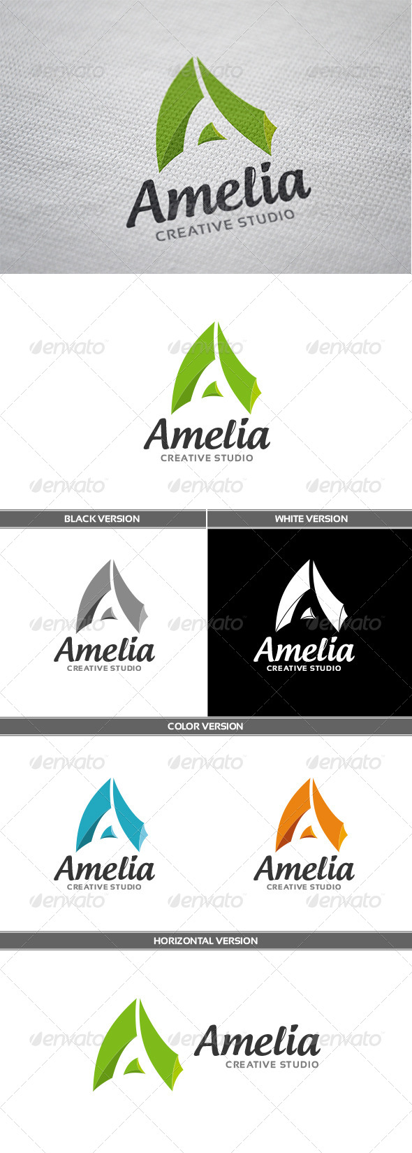 GraphicRiver Amelia Logo 6705511