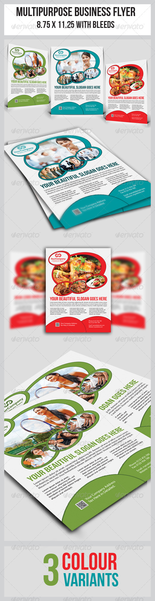 GraphicRiver Multipurpose Business Flyer 6705531