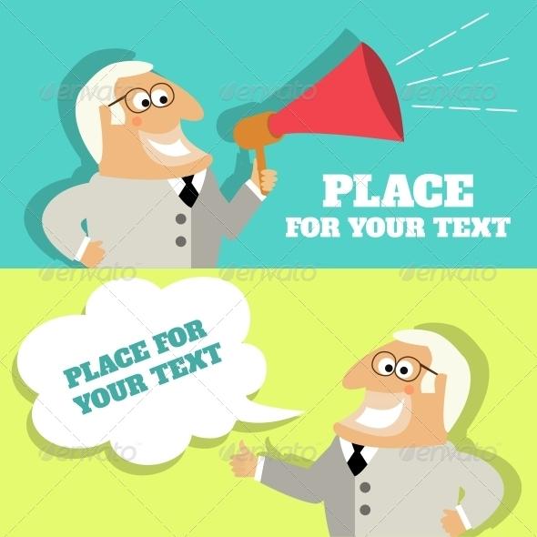 GraphicRiver Boss Speech Bubble 6705685