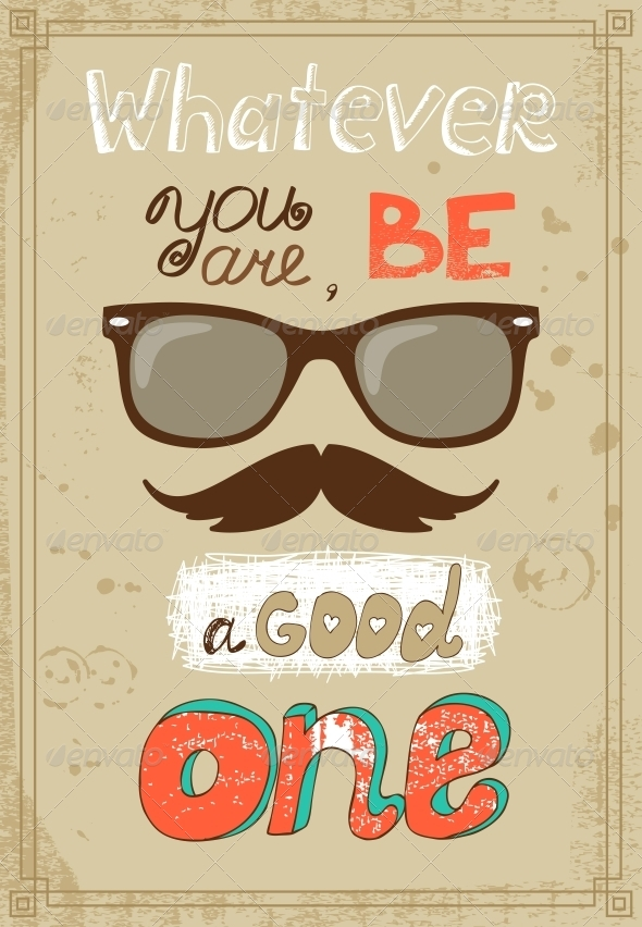 GraphicRiver Hipster Poster 6705711