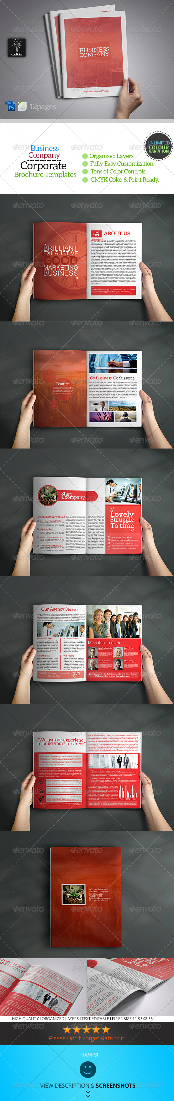 GraphicRiver A4 Business Brochure Template 6705876