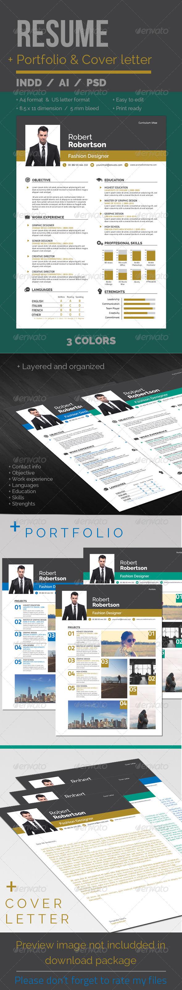GraphicRiver Resume CV 6705924