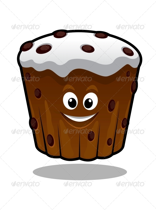 GraphicRiver Cartoon Cupcake 6706005