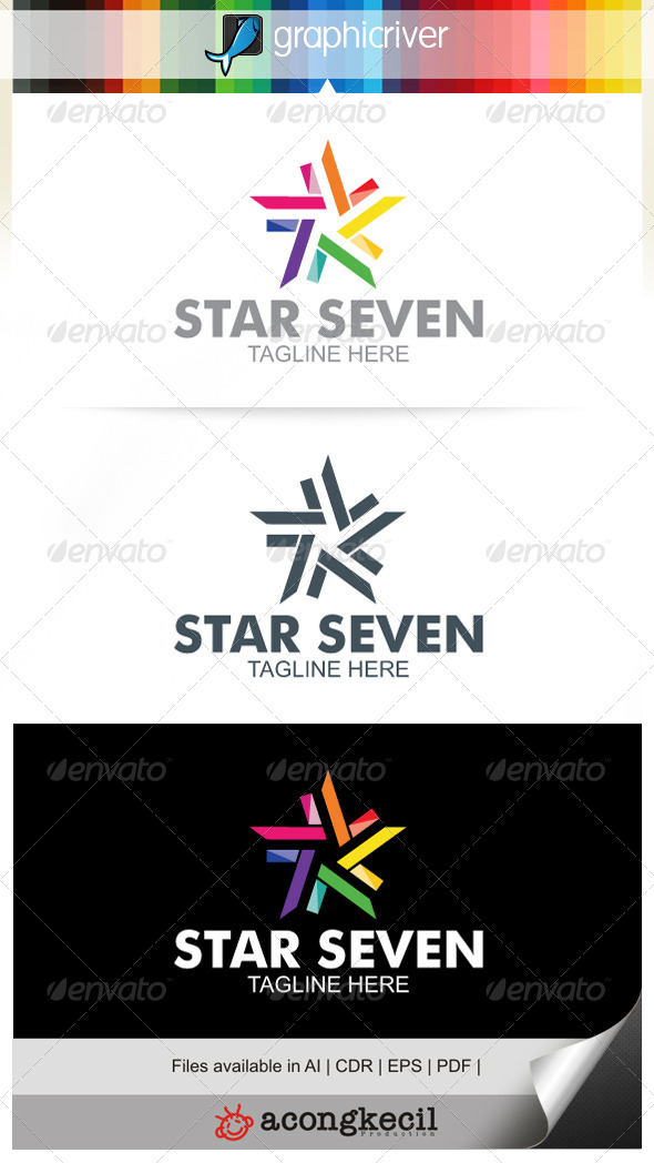 GraphicRiver Star Seven V.1 6706107