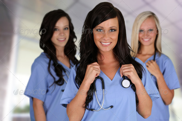 Group Of Nurses - Stock Photo - Images